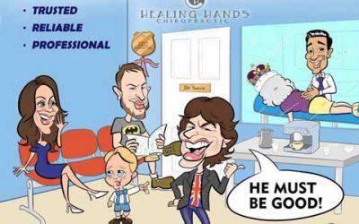Healing Hands Chiropractic: the Launch : 9 August 2017